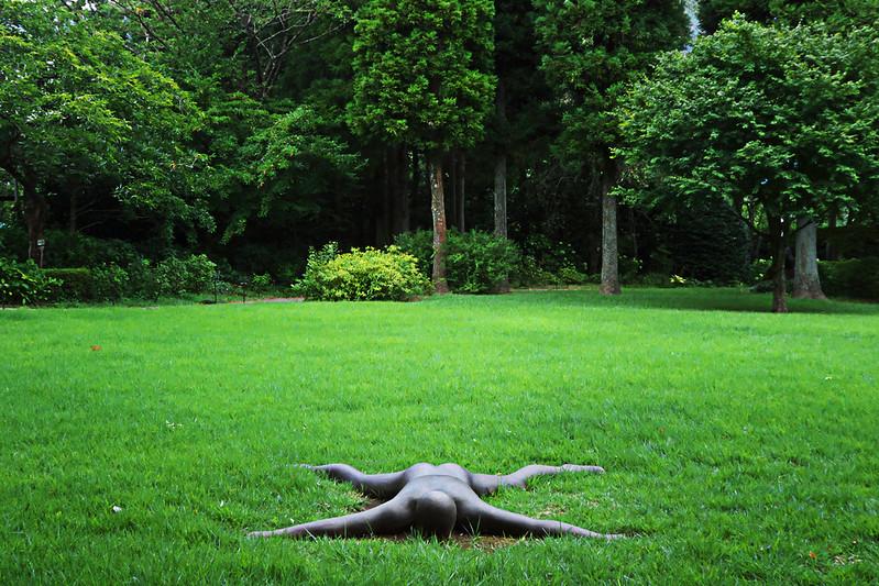彫刻の森美術館の横尾忠則展からの箱根神社で恋愛成就タダ乗りへ