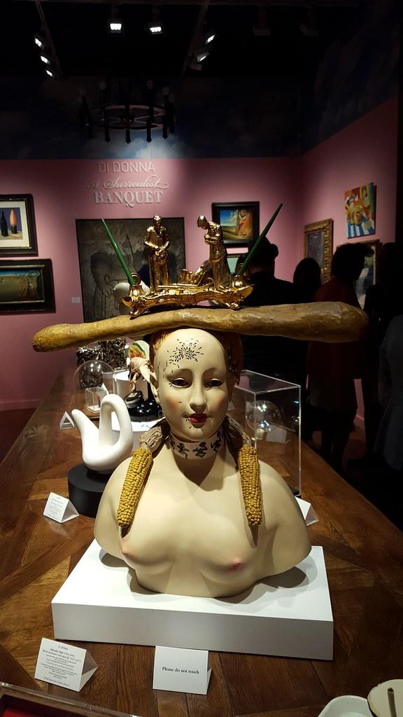 Dali Sculpture by Socially Superlative
