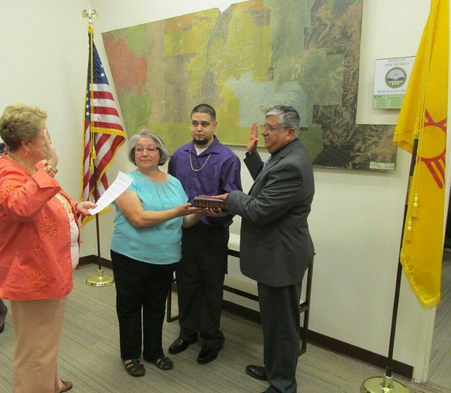 Swearing In Ceremony of Bobby Espinosa, Chief Deputy Assessor