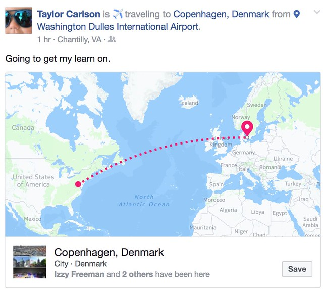 Taylor to Denmark