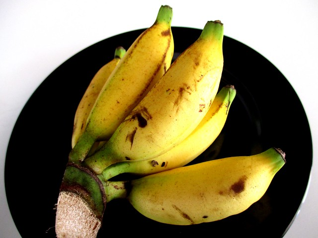 D'Santai Cafe complimentary bananas on Fridays