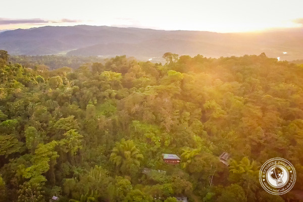 Aerial View of Finca Bellavista Treehouse Community in Costa Rica