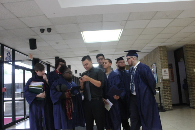 High School & Kindergarten Graduates Unite
