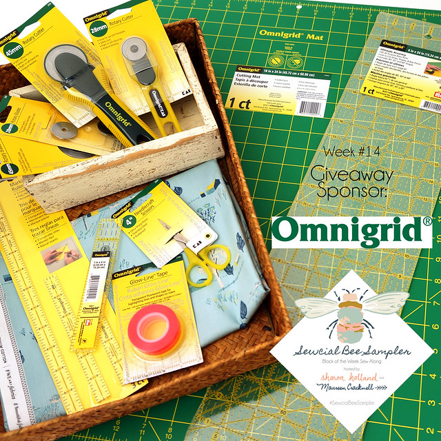 A Sewcial Bee Giveaway with Omnigrid!
