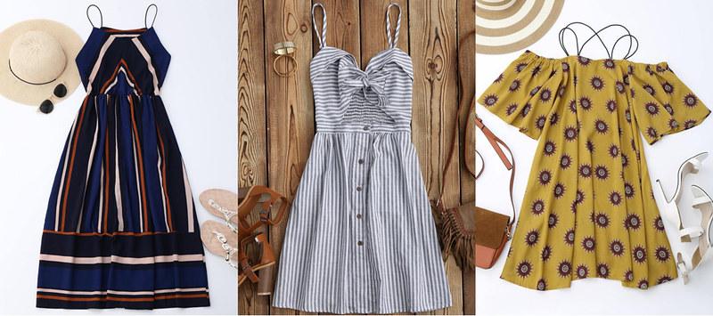 zaful-spaghetti-strap-dresses