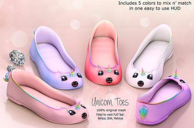 (AMD) Unicorn Toes