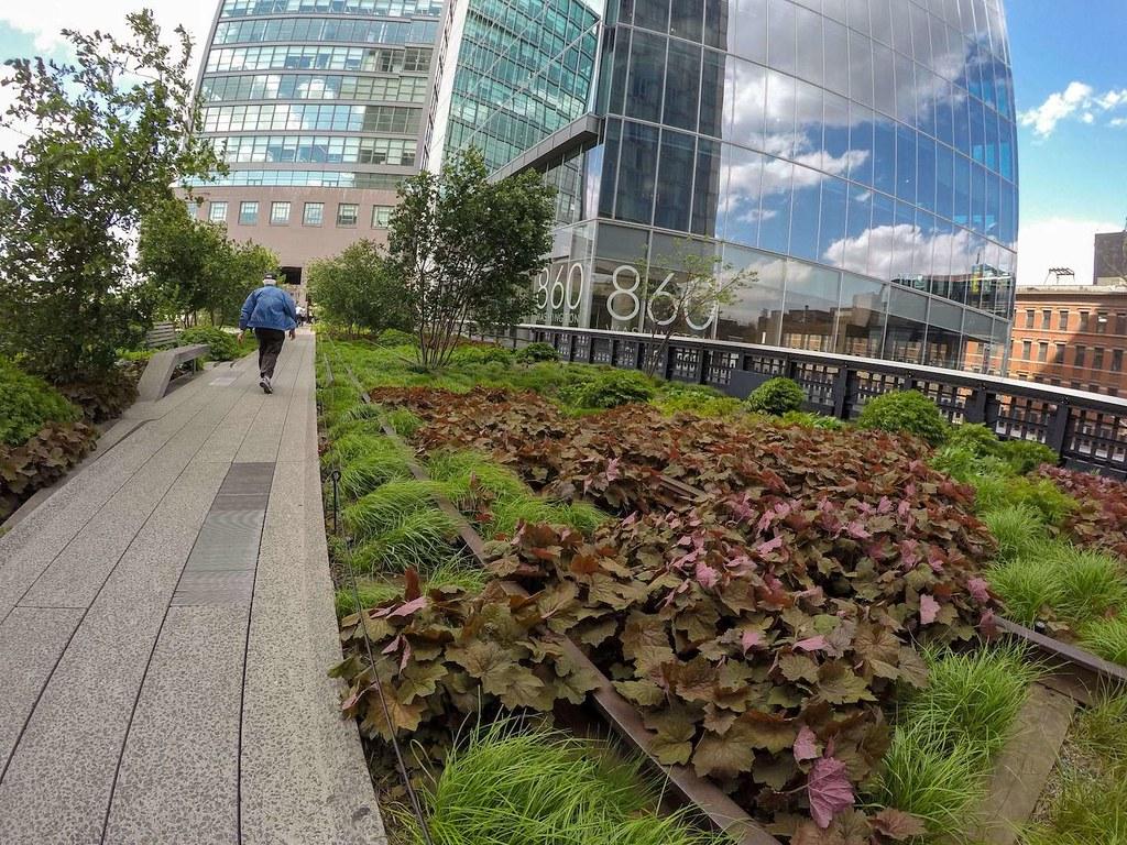High Line Park in spring 3