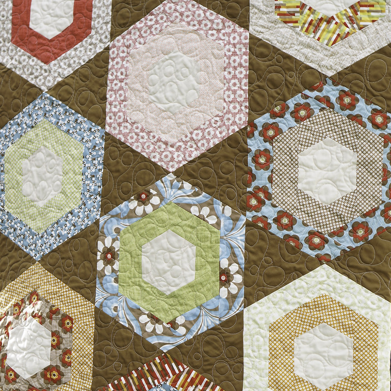 Boho Honeycomb Quilt Tutorial