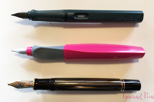 Review @Lamy Safari 2017 Petrol Fountain Pen @Fontolpum0 6