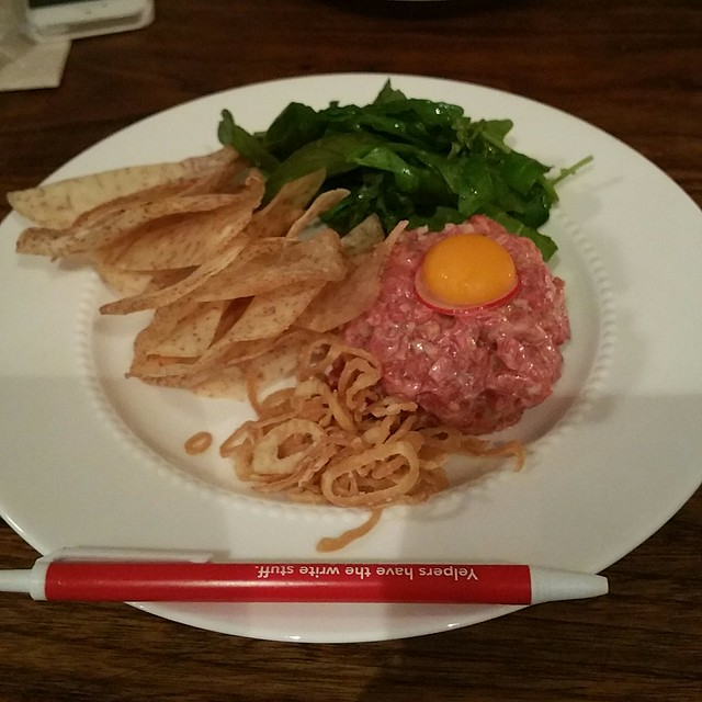 2017-May-15 Bao Bei - beef tartare