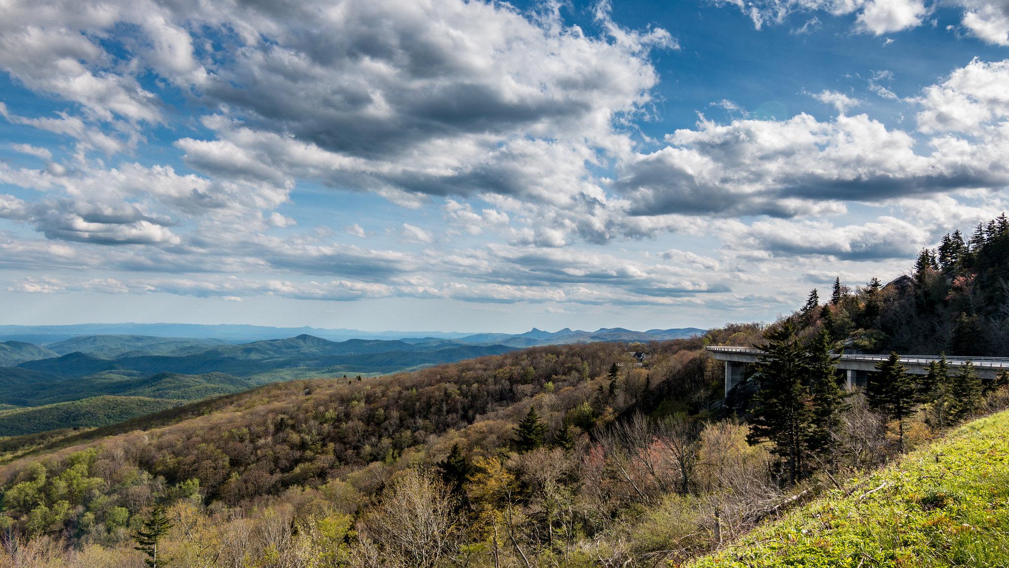 Blue Ridge ParkWay - Caroline du Nord - Virginie - [USA]