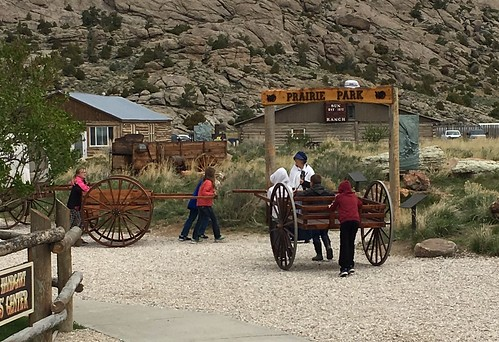 trying out Handcarts, Wyoming. From The Art of Road Tripping, Part 2: Remaining Open