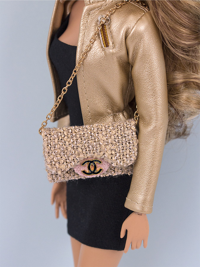 Chanel handbag Barbie