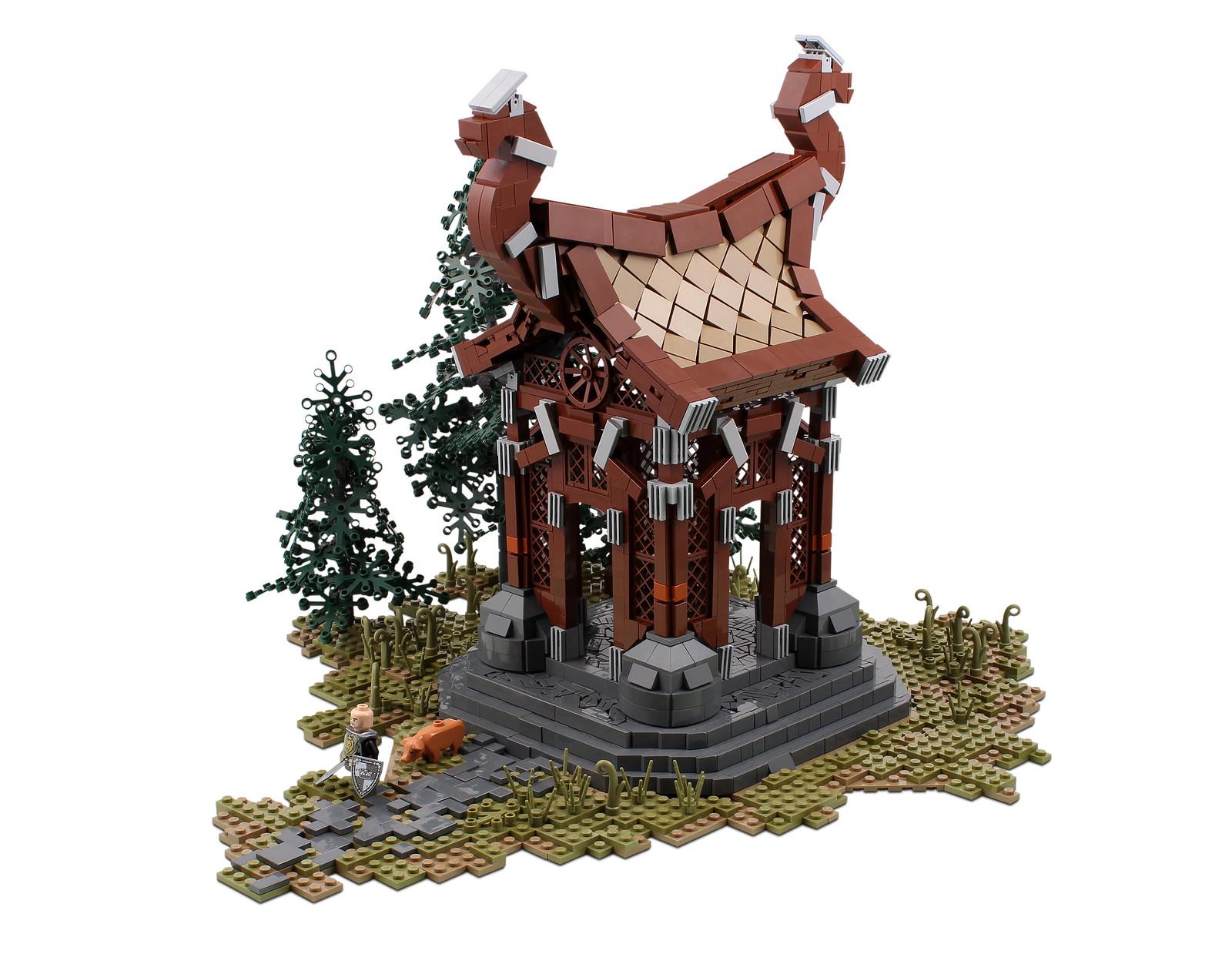 How To Get Blueprints Of My House Online Kynesgrove Wayshrine In Lego Elder Scrolls Online