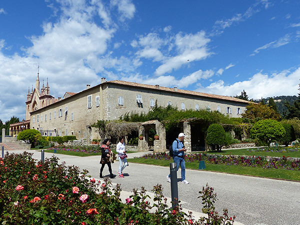 les jardins du monastère de cimiez