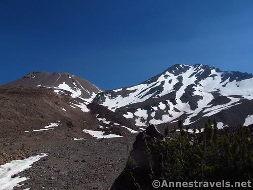 Shastina & Mt. Shasta from Hidden Valley, Shasta-Trinity National Forest, California