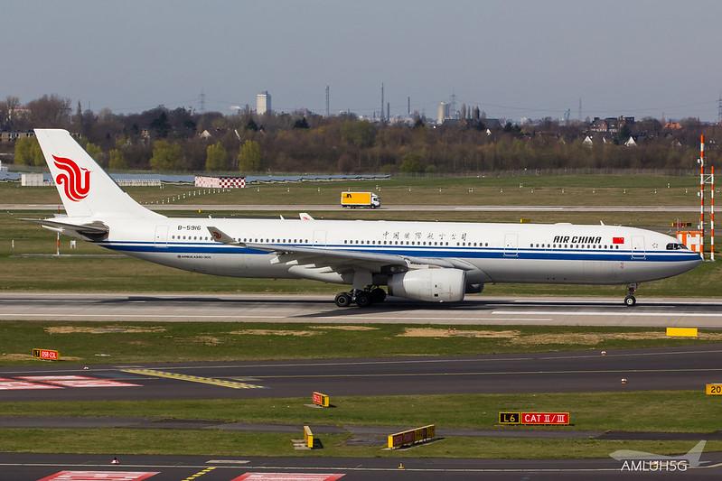 Air China - A333 - B5916 (2)