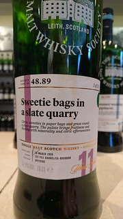 SMWS 48.89 - Sweetie bags in a slate quarry