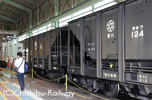 第13回わくわく鉄道フェスタ☆車両区作業風景見学