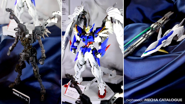56th Shizuoka Hobby Show - 1/100 Hi-Resolution Model Wing Gundam Zero EW