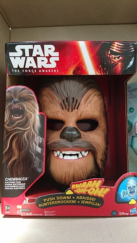Chewbacca Mask - Box