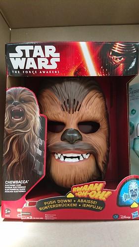 Chewbacca Mask - Box