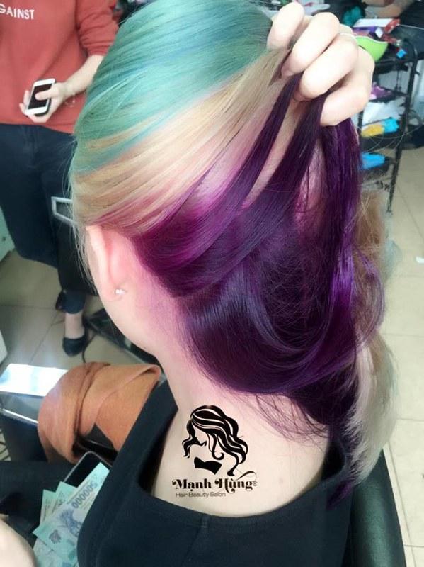 nhuộm tóc đẹp hải phòng 2