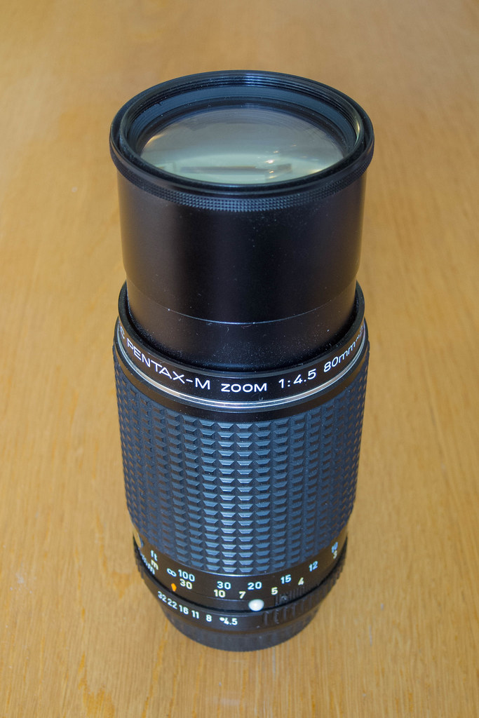80-200mm f/4.5 SMC Pentax-M Zoom