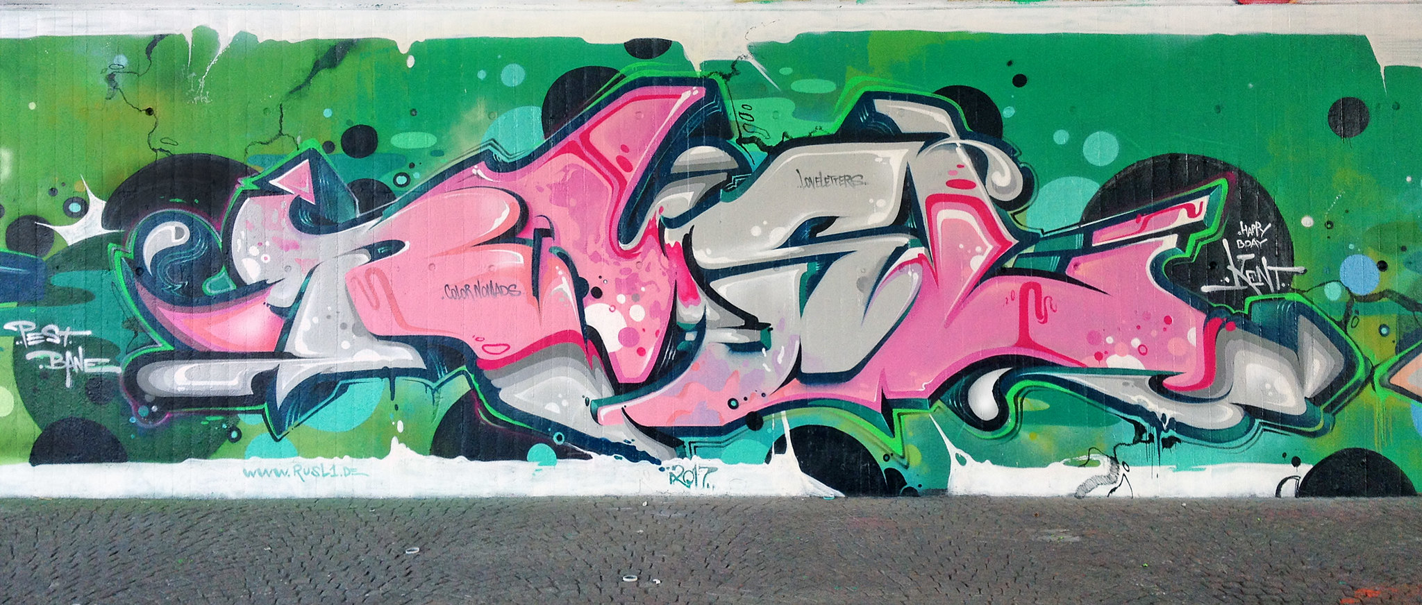 RUSL - I ♥ LETTERS | Flickr