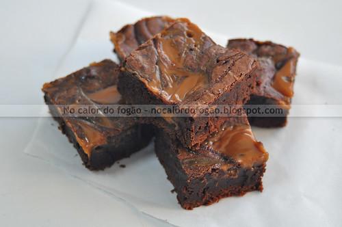Brownies de doce de leite