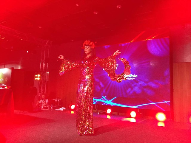 Travesti show in Euroclub