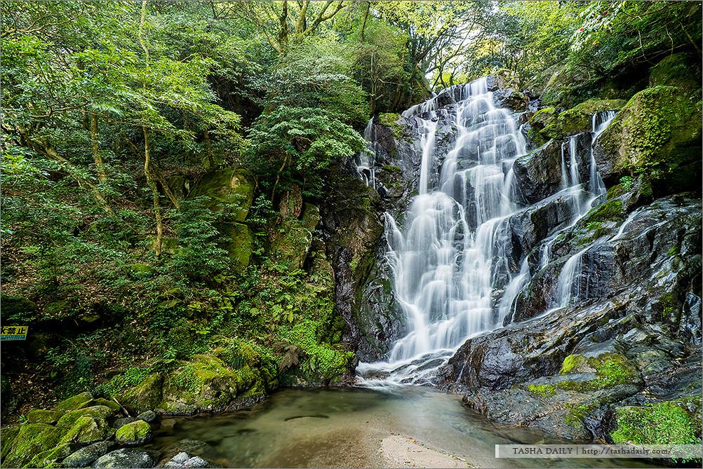 福岡自由行︱絲島市 白糸の滝.探訪祕境中的絲流瀑布