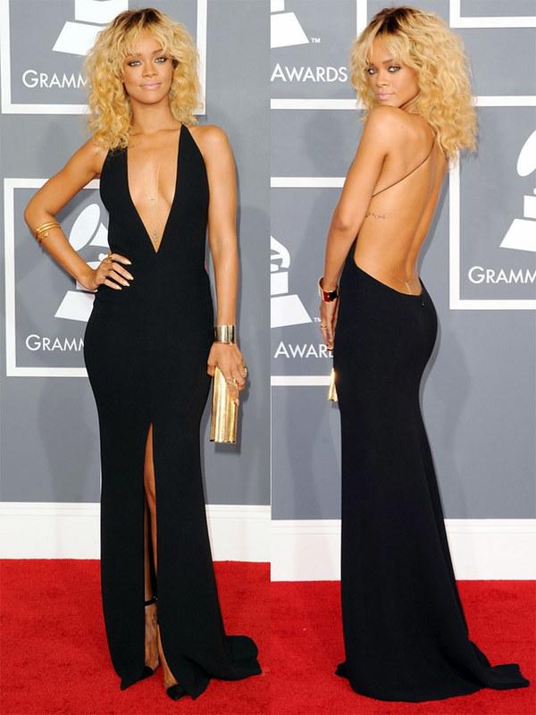 Рианна на церемонии Grammy