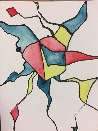 19 Ink and Watercolour Abstract 3 | by Pict Ink