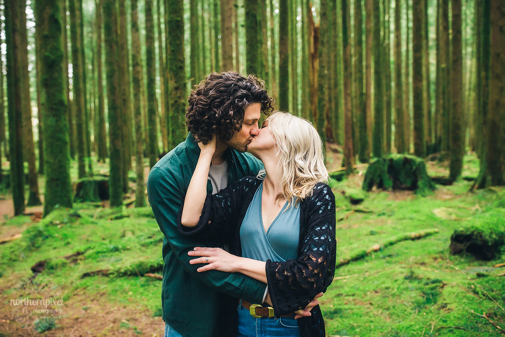 Golden Ears Provincial Park Engagement Session