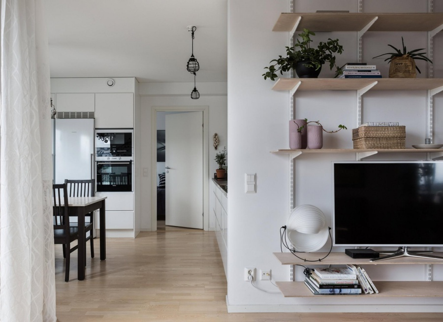 Simple Scandinavian Apartment Design