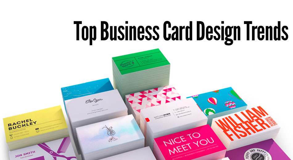 Top Business Card Design Trends
