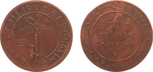 1902 Boer War Mocking Medal