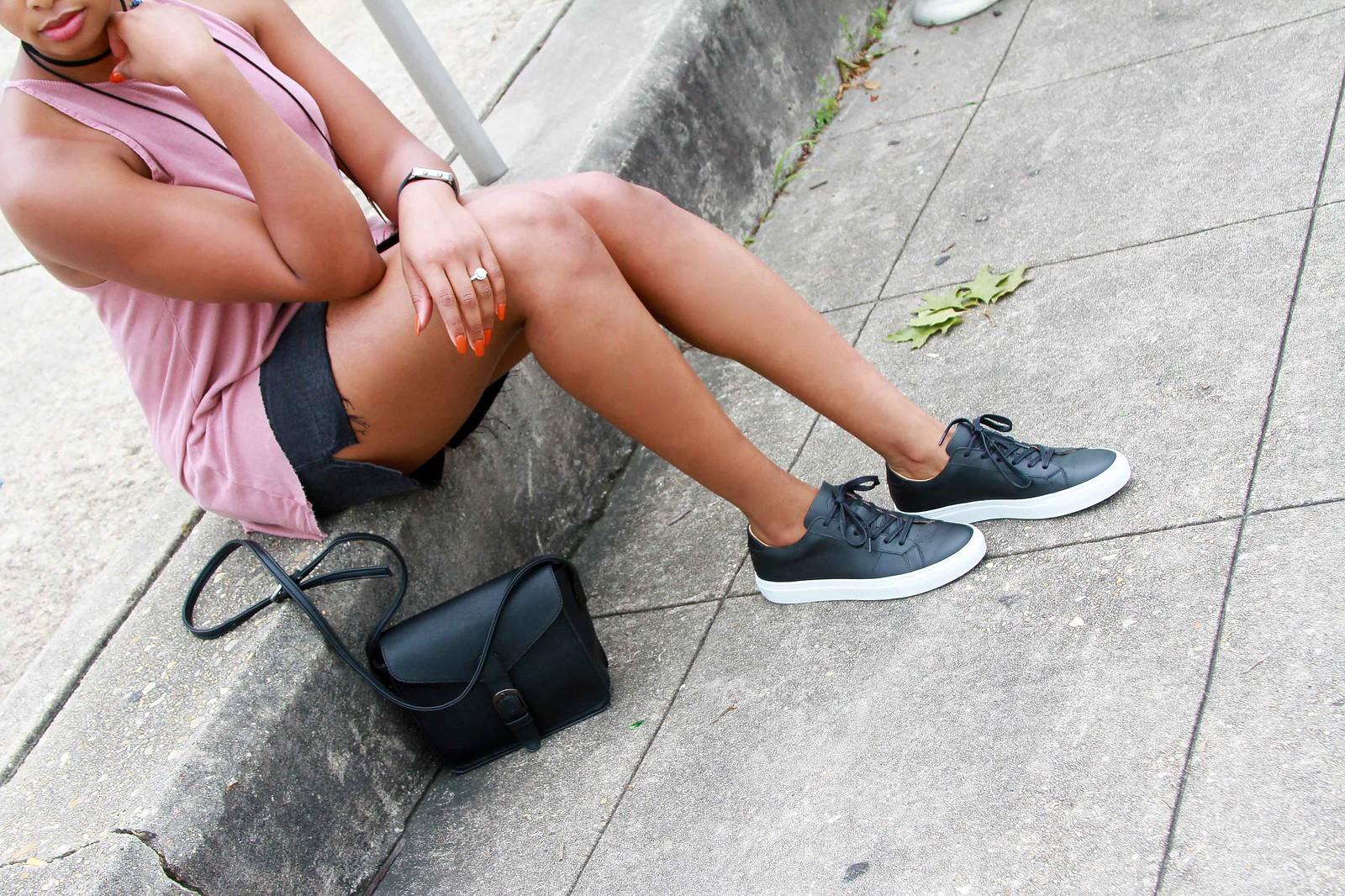 how to wear a step hem skirt, the beauty beau