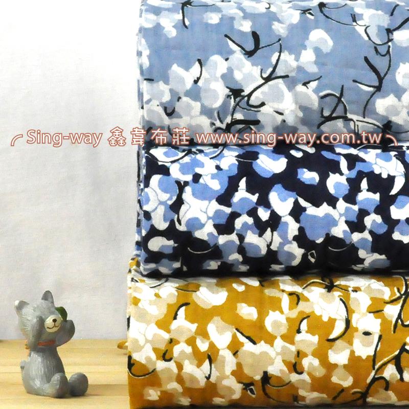 燈泡花 典雅花卉 夏季服裝布料 CH890233