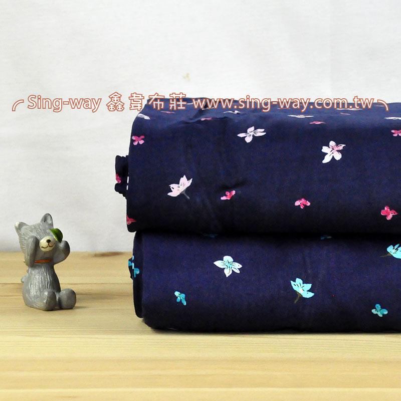 粉花 典雅花卉 夏季服裝布料 CH890234