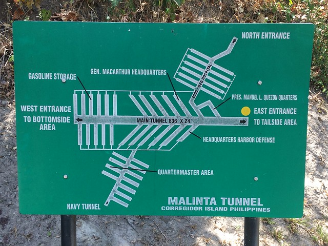 Malinta Tunnel Map