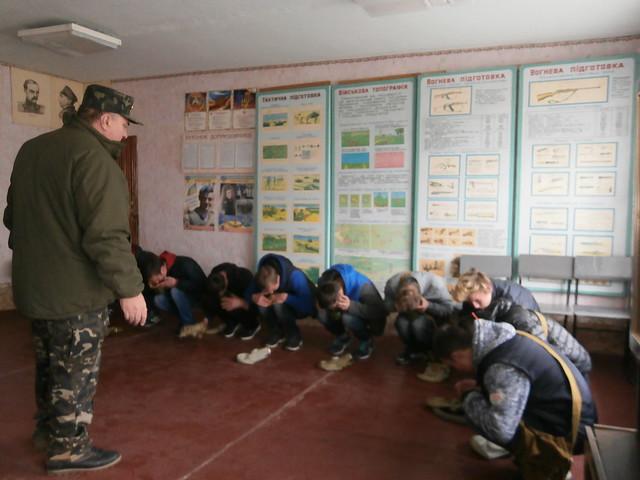 Навчально-польові збори юнаків