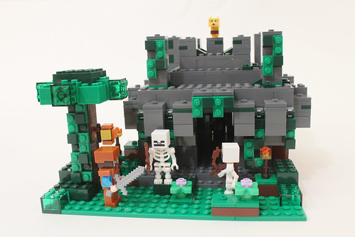 LEGO Minecraft The Jungle Temple (21132)