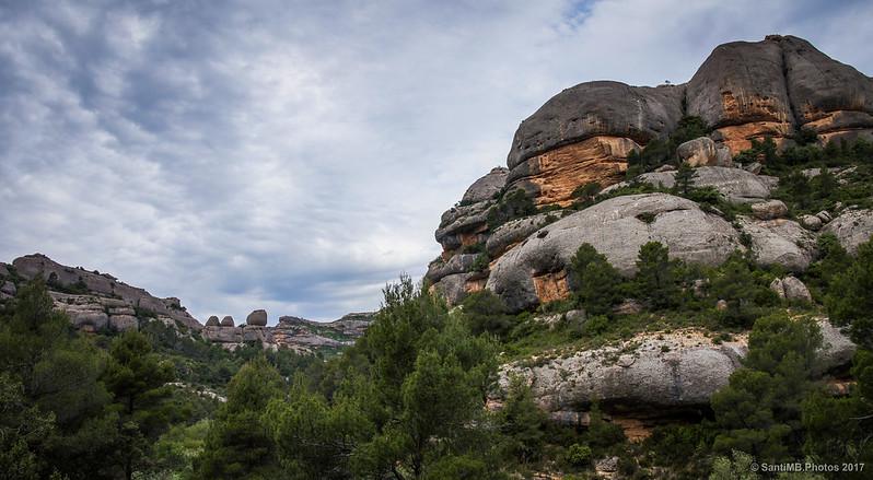 Rocas de la Serra de La Llena