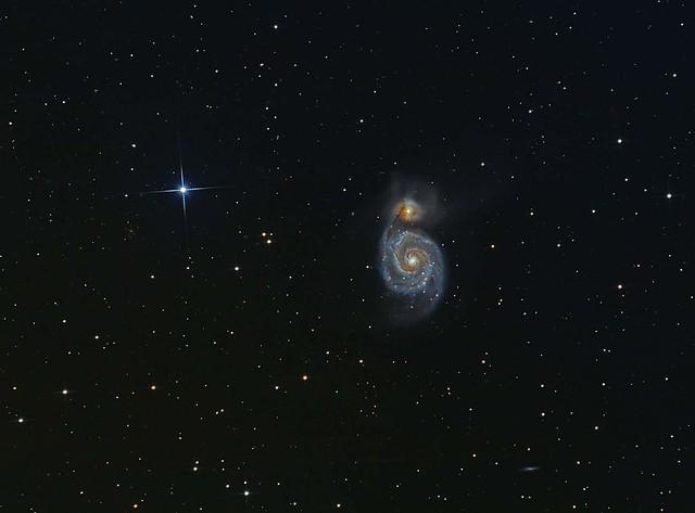 VCSE - Messier 51 - Majoros Attila