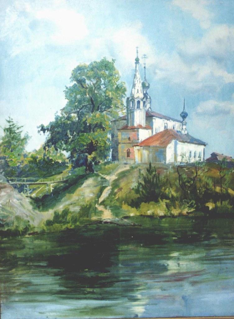 维克多·阿斯塔利采夫画作选14