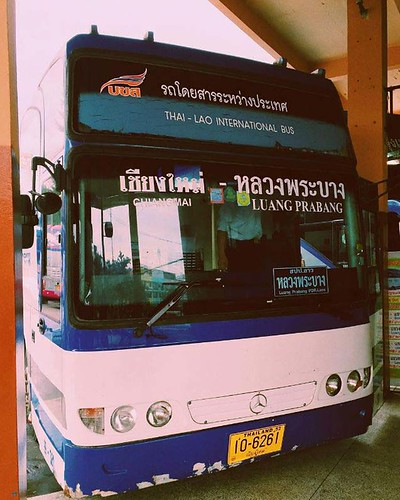 Chiang Mai Arcade Bus Terminal Thailand