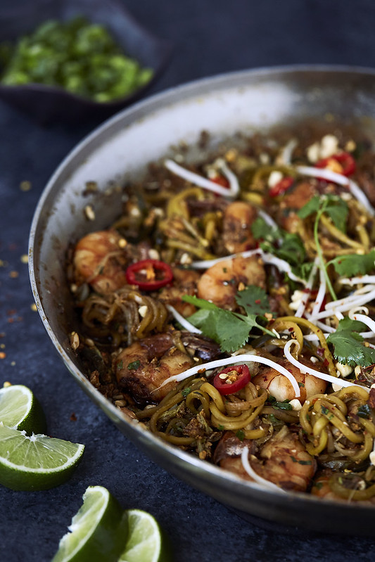 Zucchini Noodle Pad Thai {Paleo & Gluten-free}
