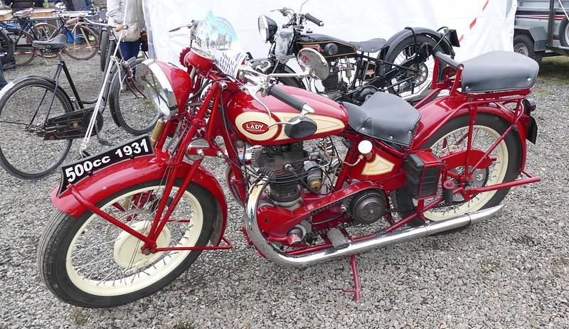 Lady Antwerpen 500 Rudge 1931 (Belgique)  34399621962_01c8f7c262_c